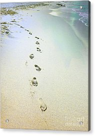 Acrylic Print featuring the photograph Sand Between My Toes by Betty LaRue