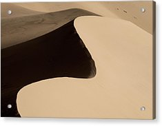 Sand Acrylic Print by Chad Dutson