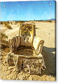 Sand Chair Acrylic Print
