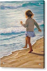 Sand Dancer Acrylic Print
