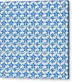 Sand Dollar Delight Pattern 1 Acrylic Print