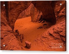 Acrylic Print featuring the photograph Sand Dune Arch - Arches National Park - Utah by Gary Whitton