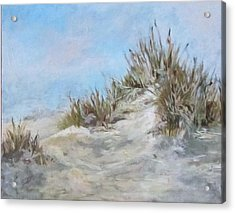 Sand Dunes And Salty Air Acrylic Print