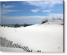 Acrylic Print featuring the photograph Sand Dunes Dream by Marie Hicks