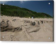 Sand Dunes II Acrylic Print by Jeff Porter