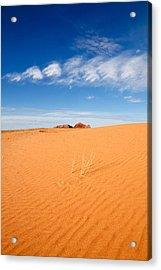 Sand Dunes In San Rafael Desert Acrylic Print by Utah Images