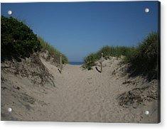 Sand Dunes Iv Acrylic Print by Jeff Porter