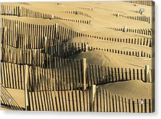 Sand Dunes Of The Outer Banks Acrylic Print