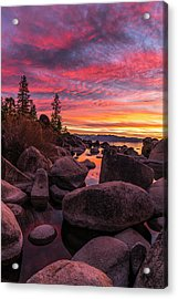 Sand Harbor Beach Acrylic Print