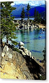 Sand Harbor Morning Acrylic Print