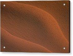 Sand In Sahara Acrylic Print