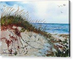 Sand Mount Acrylic Print