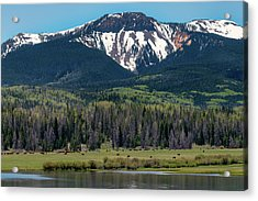 Sand Mountain From Steamboat Lake Acrylic Print