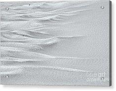 Sand Sea - High Key Acrylic Print by Hideaki Sakurai