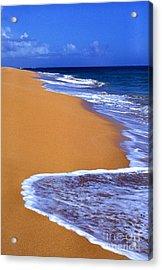 Sand Sea Sky Acrylic Print by Thomas R Fletcher