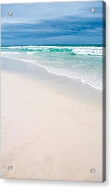Sand Water And Sky Acrylic Print by Shelby Young