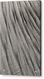 Acrylic Print featuring the digital art Sand Waves by Julian Perry
