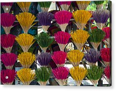 Sandalwood Incense Sticks Acrylic Print