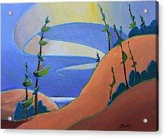 Sandbanks Acrylic Print