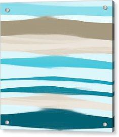Sandbanks Acrylic Print by Frank Tschakert