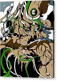 Sandbox Acrylic Print