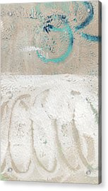Sandcastles- Abstract Painting Acrylic Print