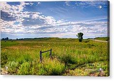 Sandhills Sky Acrylic Print