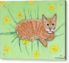 Sandie's Cat Acrylic Print