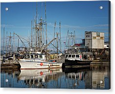 Acrylic Print featuring the photograph Sandra M And Lasqueti Dawn by Randy Hall
