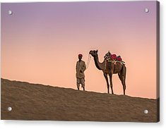 Sands Of The Thar Acrylic Print by Arti Panchal
