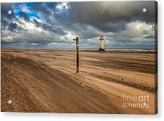 Sands Of Time Acrylic Print by Adrian Evans