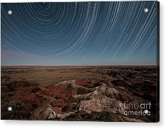 Sands Of Time Acrylic Print by Melany Sarafis