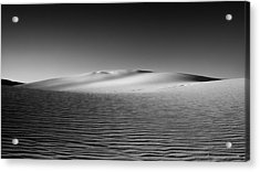 Sandscape Acrylic Print by Joseph Smith