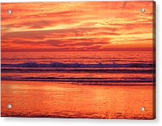Sandshine Acrylic Print by Jean Booth