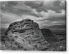 Sandstone Butte Acrylic Print