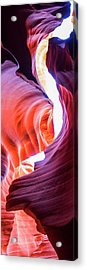 Acrylic Print featuring the photograph Sandstone Collection 4 Verticle Shadows by Brad Scott