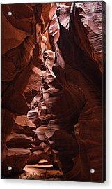 Sandstone Curves Acrylic Print