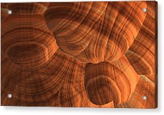 Sandstone Acrylic Print by Lyle Hatch