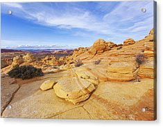 Sandstone Wonders Acrylic Print by Chad Dutson