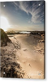 Sandy Beach Haven Acrylic Print