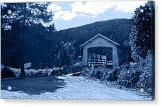 Sandy Creek Covered Bridge Acrylic Print