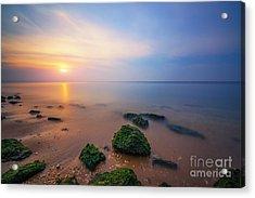 Sandy Hook New Jersey Sunset  Acrylic Print
