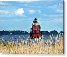 Sandy Pt Shoal Lighthouse - Restoration Acrylic Print
