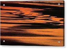 Sandy Reflection Acrylic Print