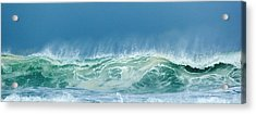 Sandy Wave Acrylic Print by Michelle Wiarda