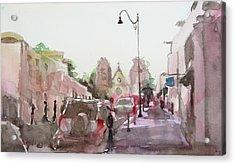 Sanfransisco Street Acrylic Print by Becky Kim