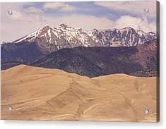 Sangre De Cristo Mountains And The Great Sand Dunes Acrylic Print by James BO  Insogna