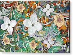 Sangria Flora Acrylic Print