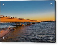Acrylic Print featuring the photograph Sanibel Causeway IIi by Steven Ainsworth