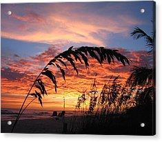 Sanibel Island Sunset Acrylic Print